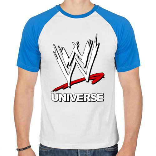 Мужская футболка реглан  Фото 01, WWE universe