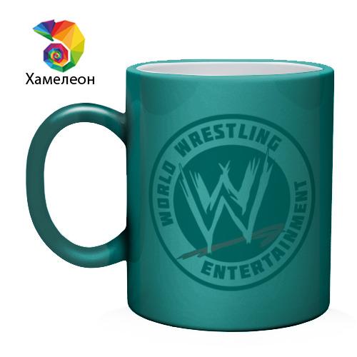Кружка хамелеон  Фото 02, World wrestling entertainment