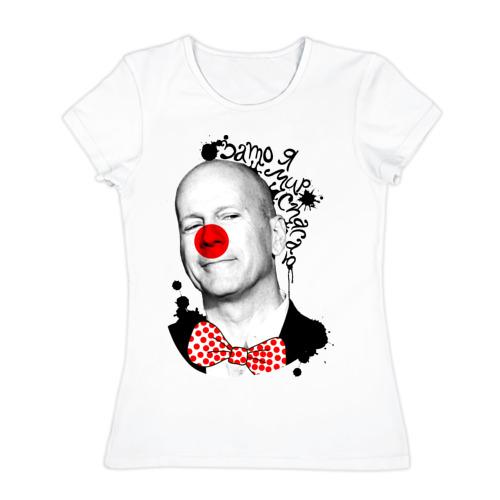 Женская футболка хлопок  Фото 01, Брюс Уиллис