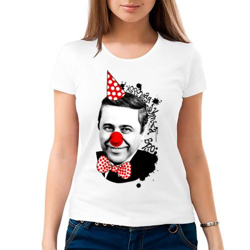 Женская футболка хлопок  Фото 03, Евгений Петросян