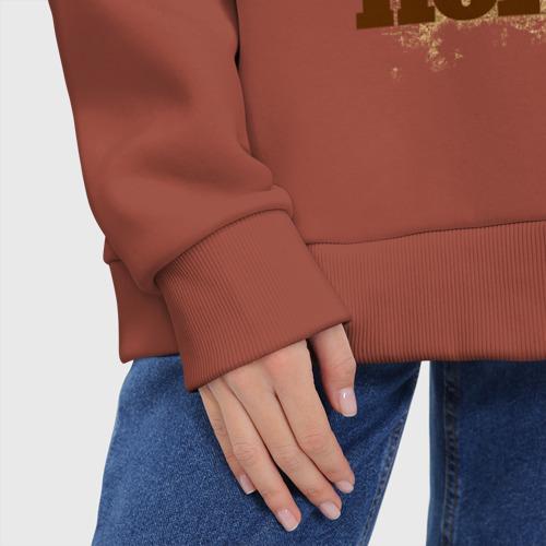 Женское худи Oversize хлопок 99 в моде Фото 01