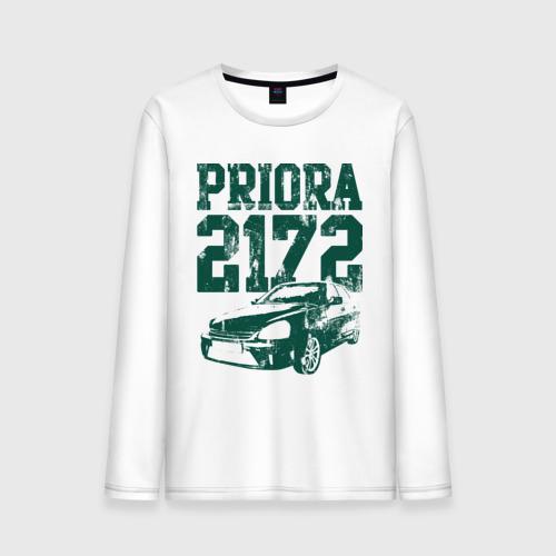 """Мужская футболка с длинным рукавом """"Lada Priora 2172"""" - 1"""