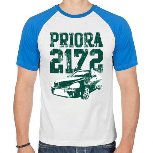 """Мужская футболка-реглан """"Lada Priora 2172"""" - 1"""
