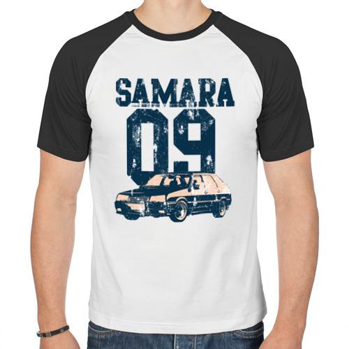 Мужская футболка реглан  Фото 01, Samara 2109