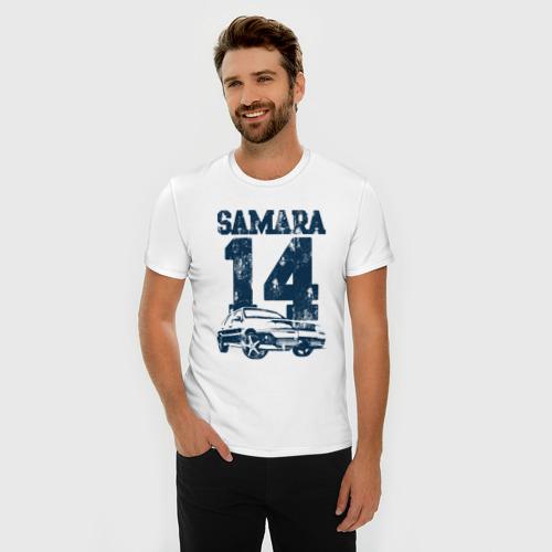 Мужская футболка премиум  Фото 03, Samara 2114