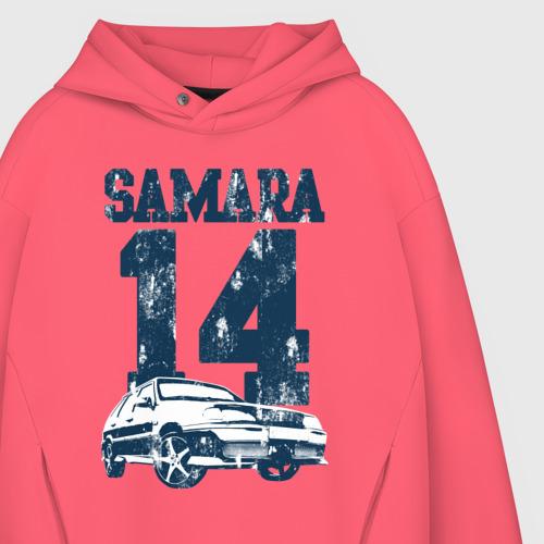 Мужское худи Oversize хлопок Samara 2114 Фото 01