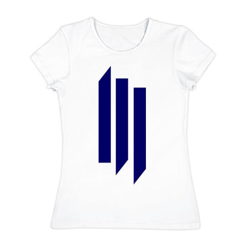 Женская футболка хлопок  Фото 01, The Skrillex