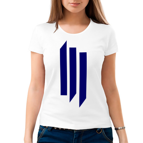 Женская футболка хлопок  Фото 03, The Skrillex