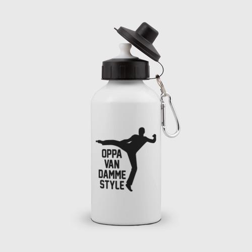 Бутылка спортивная  Фото 01, Oppa Van Damme style