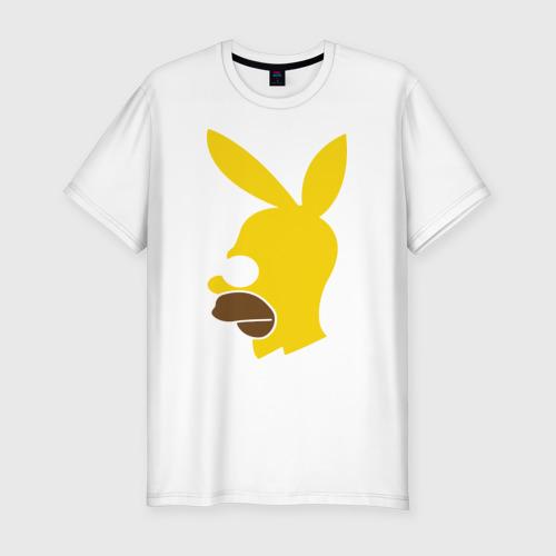 Мужская футболка премиум  Фото 01, Playboy Homer Simpson