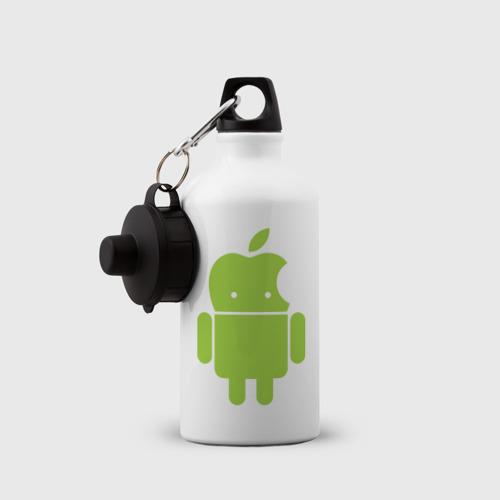 Бутылка спортивная  Фото 03, Android Applehead