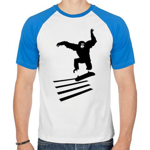 Обезьянка на скейте