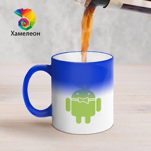 Кружка хамелеон  Фото 05, Android Playboy