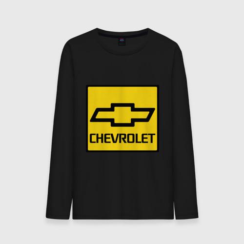 Мужской лонгслив хлопок  Фото 01, logo chevrolet