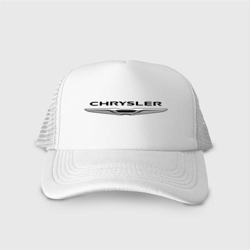 Кепка тракер с сеткой Chrysler лого Фото 01