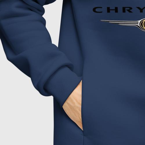 Мужское худи Oversize хлопок Chrysler logo Фото 01