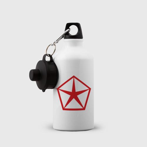 Бутылка спортивная  Фото 03, logo chrysler