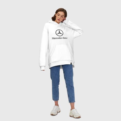 Худи SuperOversize хлопок Logo Mercedes-Benz Фото 01