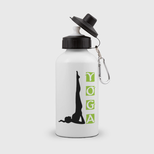 Бутылка спортивная  Фото 01, Woman Yoga