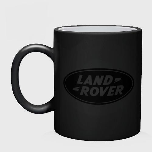 Кружка хамелеон Land Rover logo Фото 01