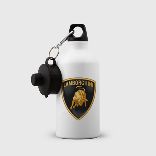 Бутылка спортивная  Фото 03, Lamborghini logo