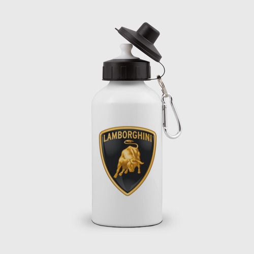 Бутылка спортивная  Фото 01, Lamborghini logo