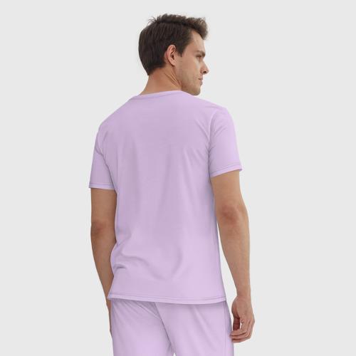 Мужская пижама хлопок Lamborghini logo Фото 01