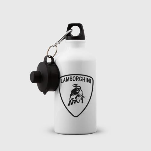 Бутылка спортивная  Фото 03, Lamborghini лого