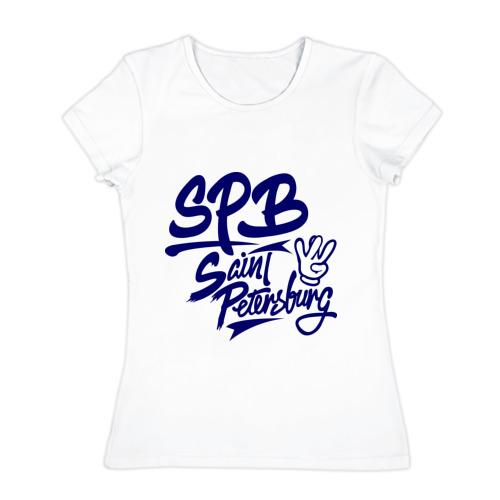 Женская футболка хлопок SPB