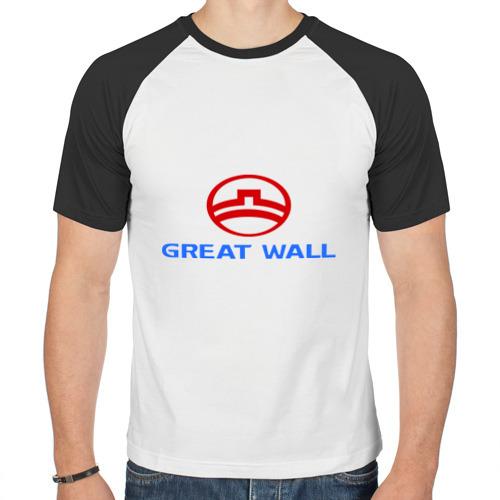 Мужская футболка реглан  Фото 01, Great Wall