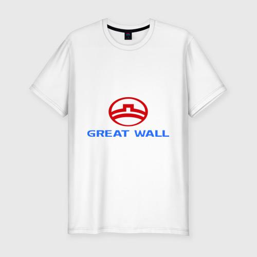 Мужская футболка премиум  Фото 01, Great Wall