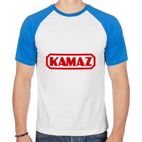 "Мужская футболка_реглан ""Kamaz"" - 1"