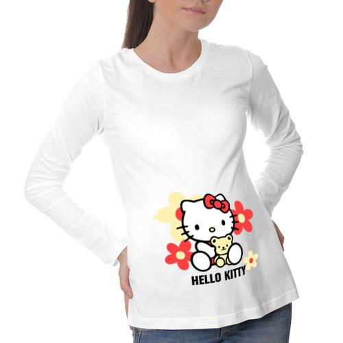 Лонгслив для беременных хлопок Kitty and bear