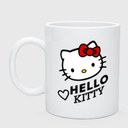 Сердечко Hello Kitty