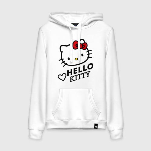 Женская толстовка хлопок  Фото 01, Сердечко Hello Kitty