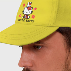 Kitty и клубнички