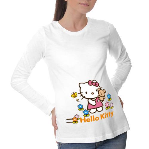 Лонгслив для беременных хлопок Милая Kitty