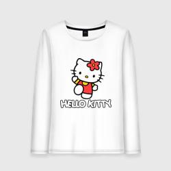 Hello Kitty с цветком