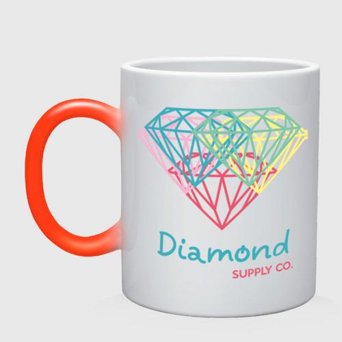 Кружка хамелеон Diamond supply CO. Fullcolor
