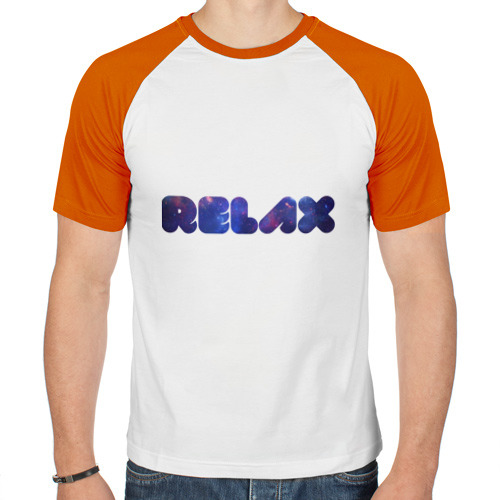 Мужская футболка реглан  Фото 01, Galaxy relax