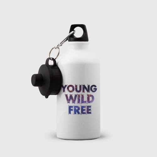 Бутылка спортивная  Фото 03, Young wild free