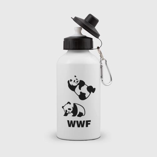 Бутылка спортивная  Фото 01, Панда WWF Wrestling Challenge