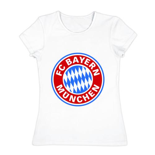 Женская футболка хлопок Bavaria-Munchen