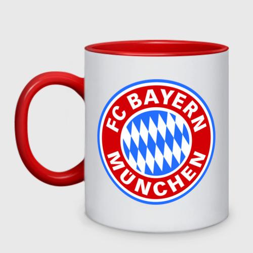 Кружка двухцветная Bavaria-Munchen