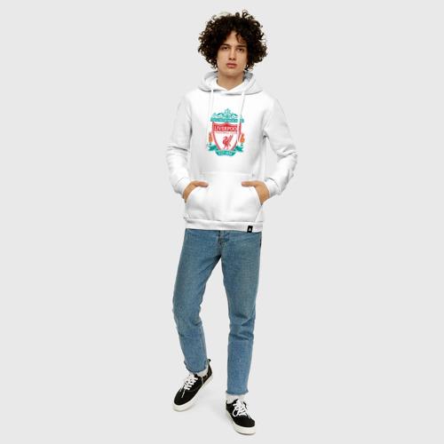 Мужская толстовка хлопок Liverpool logo Фото 01