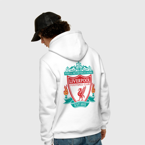 Мужская толстовка хлопок  Фото 04, Liverpool logo