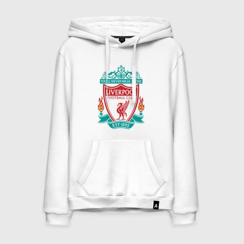 Мужская толстовка хлопок Liverpool logo