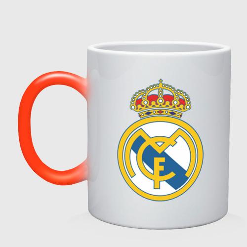 Кружка хамелеон  Фото 01, Real Madrid