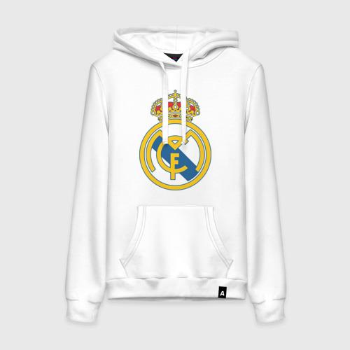 Женская толстовка хлопок Real Madrid