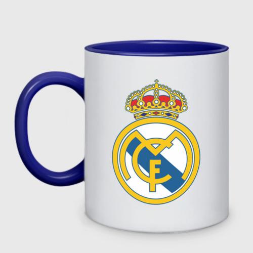 Кружка двухцветная Real Madrid Фото 01